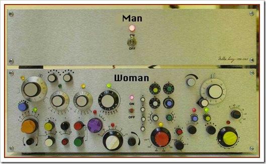 ההבדל בין נשים וגברים