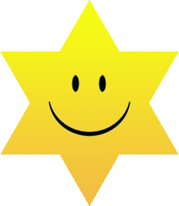 smiling_yellow_star_of_david